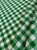 Tecido Gorgurinho Xadrez Verde Branco - Imagem 1