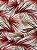 Tecido Verona folhas bege terracota - Imagem 1