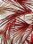 Tecido Verona folhas bege terracota - Imagem 2