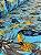 Tecido Jacquard Tucano abacaxi tiffany - Imagem 2