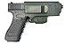 Coldre Velado Glock em Polímero Só Coldres - Imagem 2