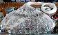 Tarrafa Malha 1,5 Fio 0,30mm Altura 2,3m Roda 16m O Pescador - Imagem 1