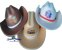 Chapéu Cowboy de Eva-Personalizado-brindes-Adulto e Infantil-Fabricação Própria - Imagem 1