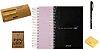 Combo Semestral - Impulso 2018.1 Verde Nuvem + Impulso 2018.2 Soft Black + Organizador de Foco Impulso + Marcador Impulso + Caneta Inox Pilot + Conjunto de Notas Adesivas 100fls - Imagem 1