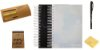 Combo Semestral - Impulso 2018.1 Soft Black + Impulso 2018.2 Verde Nuvem + Organizador de Foco Impulso + Marcador Impulso + Caneta Inox Pilot + Conjunto de Notas Adesivas 100fls - Imagem 1