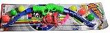 Kit Arco E Flecha Tiro Ao Alvo + Bolas E Flechas Com Ventosa - Imagem 2