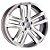 Jogo de roda aro 20 R70 amarok 5x112 - Imagem 1