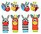 Kit de Braceletes e Meias para Bebês - 8 peças (zebras) - Imagem 1
