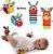 Kit de Braceletes e Meias para Bebês - 8 peças (zebras) - Imagem 2