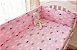 Protetor de berço - Nuvens Pink - Imagem 1