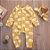 Macacão de bebê Yellow Sky - Imagem 3