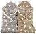 Manta para bebê com capuz soft stars (80x80cm) - Imagem 1