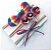Kit com 3 headbands - Arco-íris - Imagem 1