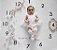 Tapete com números para fotos mensais - Relógio 100x100cm - Imagem 4
