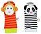 Kit de braceletes e meias para bebe use toys - Macaco e panda - Imagem 2