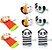 Kit de braceletes e meias para bebe use toys - Macaco e panda - Imagem 1