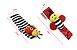 Kit braceletes e meias para bebê - Joaninhas - Imagem 3