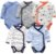 Kit com 5 bodies kimono - TEO - Imagem 1