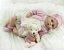 Boneca Realista Bebê Reborn 47 cm com Ursinho - Imagem 5