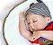 Boneco Realista Bebê Reborn Menino 47 cm com Gorro - Imagem 5