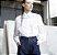 camisa tricoline manga ampla - Imagem 2