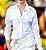 Camisa de tricoline com bolsos - Imagem 2