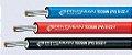 Cabo solar Prysmian Afumex 4mm² Vermelho ou Preto  - Imagem 2