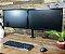 Suporte Para 2 Monitores de 10 A 32 Kg Articulado de Mesa - Imagem 3