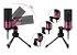 Microfone Condensador Fifine K669 USB Rosa - Imagem 9