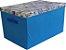 Caixa Grande Azul - Baú Guarda Objetos - Imagem 2
