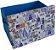 Caixa Grande Azul - Baú Guarda Objetos - Imagem 3