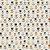 TECIDO 100% ALGODÃO FABRICART COLEÇÃO FALLING IN LOVE - MINI WHITE TULIPS - PREÇO DE 0,50 x 1,50 - Imagem 1