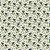 TECIDO 100% ALGODÃO FABRICART COLEÇÃO HAPPY - BLUE FLOWER - PREÇO DE 0,50 x 1,50MT - Imagem 1