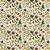 TECIDO 100% ALGODÃO FABRICART COLEÇÃO HAPPY - HAPPY FLOWERS - PREÇO DE 0,50 x 1,50MT - Imagem 1