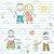 TECIDO 100% ALGODÃO FABRICART- MY FAMILY- FAMILIA AO SOL- PREÇO DE 0.50 x 1,50 - Imagem 1