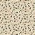 TECIDO 100% ALGODÃO FABRICART- FLORAL JACOBEAN- SEMENTES CREME PETRÓLEO- PREÇO DE 0.50 x 1,50 - Imagem 1