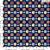 TECIDO 100% ALGODÃO EVA E EVA -COLEÇÃO  IPANEMA- BOLAS - MARINHO PREÇO DE 0.50 x 1,50 - Imagem 1