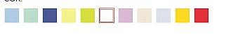 Mesa infantil (1 à 5 anos) colorida - 800mm x 800mm - Imagem 2