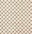 Tecido Tricoline com Estampa Xadrez - Tons de Bege - Preço de 50 cm X 150 cm - Imagem 1