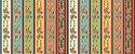 Tecido Tricoline Barrados - Coleção Cocoricó - Preço de 50 cm x 150 cm - Imagem 1