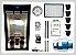 KIT LED EASY TO GROW 100x100x180 - 120w Samsung Quantum Board Bivolt - Imagem 1