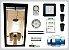 KIT LED EASY TO GROW 80x80x160 - 60w Quantum Board Bivolt - Imagem 1