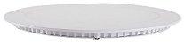 LUMINARIA DE EMBUTIR LED SLIM REDONDA 12W 6500K - Imagem 1