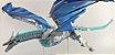Dragão Gigante Viserion Ice 1889 Peças 1 Metro de comprimento game of thrones - Blocos de Montar  - Imagem 3