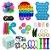 Kit com 30 peças Push Pop Bubble Sensory Fidget Toy Anti Stress  - Alta qualidade  - Imagem 1