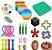 Kit com 27 peças Push Pop Bubble Sensory Fidget Toy Anti Stress  - Alta qualidade  - Imagem 1