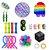 Kit com 22 peças Push Pop Bubble Sensory Fidget Toy Anti Stress I  - Alta qualidade  - Imagem 1