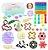 Kit com 24 peças Push Pop Bubble Sensory Fidget Toy Anti Stress  - Alta qualidade  - Imagem 1