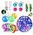 Kit com 19 peças Push Pop Bubble Sensory Fidget Toy Anti Stress I - Alta qualidade  - Imagem 1