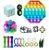 Kit com 20 peças Push Pop Bubble Sensory Fidget Toy Anti Stress II - Alta qualidade  - Imagem 1